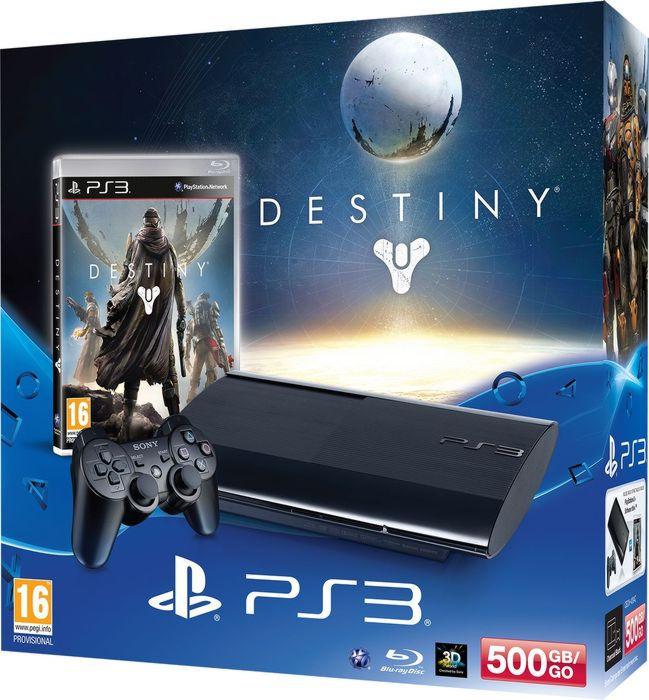 PlayStation 3  500 GB Premium +»Destiny»