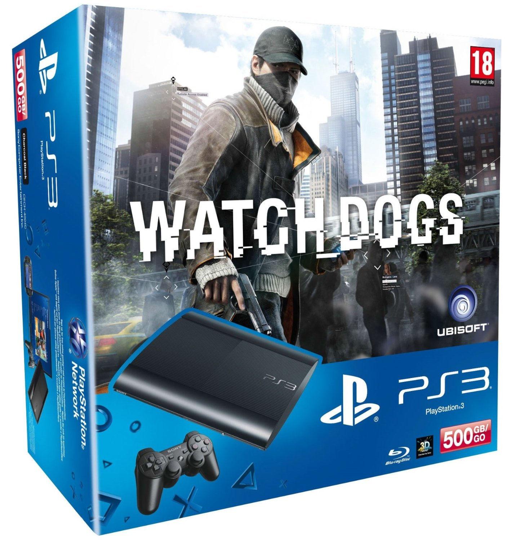 PlayStation 3  500 GB Premium +»Watch Dogs»