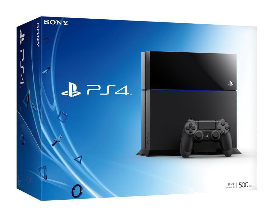 PlayStation 4 500 Gb черная