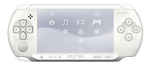 Playstation PSP — E1008 Street Base Pack White