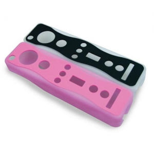 Wii BLACKHORNS цветные чехлы для джойстиков  Dual Colored Glove BH-Wii10002
