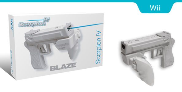 Wii BlazePro пистолет Scorpion Vii (Wii-0535)