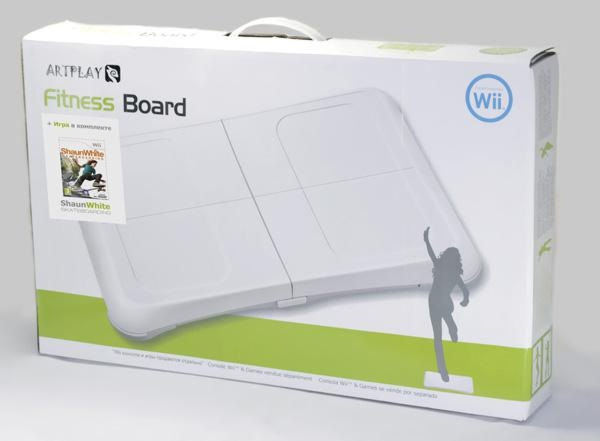 Wii Комплект: Игровой контроллер Balance Board ARTPLAYS+игра Shaun White Skate