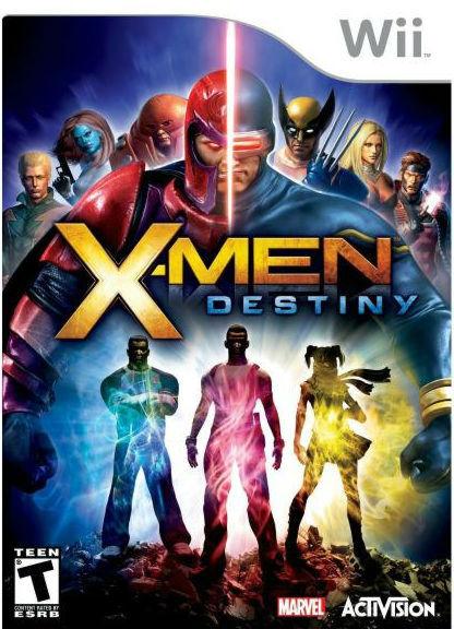 X-Men Destiny Wii