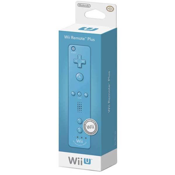 Wii U Nintendo Игровой контроллер Remote Plus Blue (NIA-2310266)