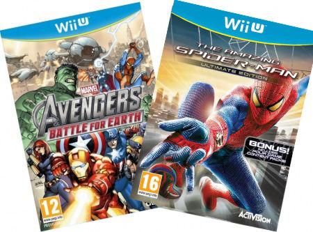 Комплект: Avengers. Battle for Earth + The Amazing Spider-man [WiiU] Wii U