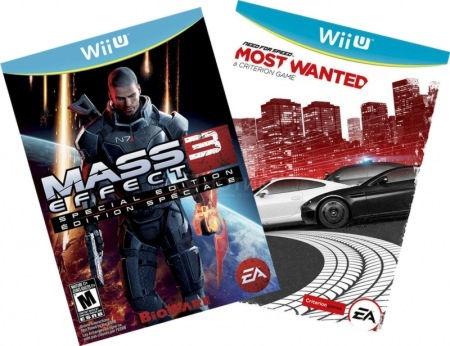Комплект: Need for Speed Most Wanted U [WiiU] + MASS EFFECT 3 SPECIAL EDITION WiiU EN PG FRONTLINE Wii U