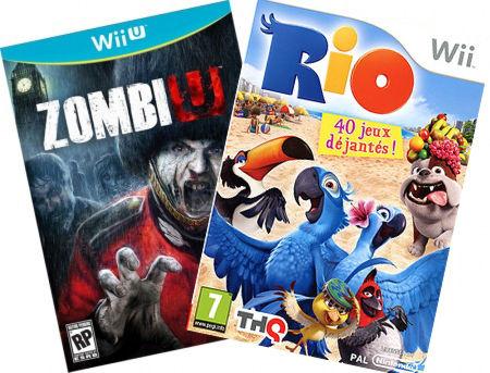 Комплект: Zombi U + WII RIO Wii U