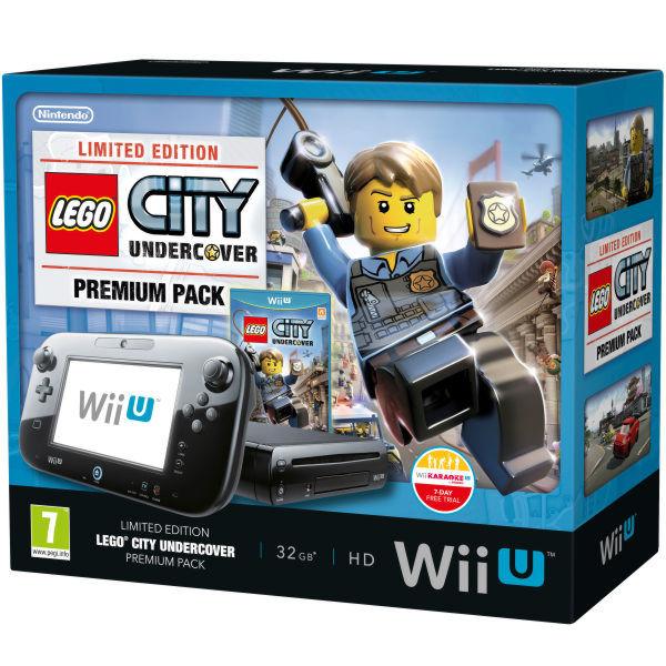 Nintendo Wii U Premium Pack + код Wii Karaoke U + игра Lego City Undercover (NIC-2300736)