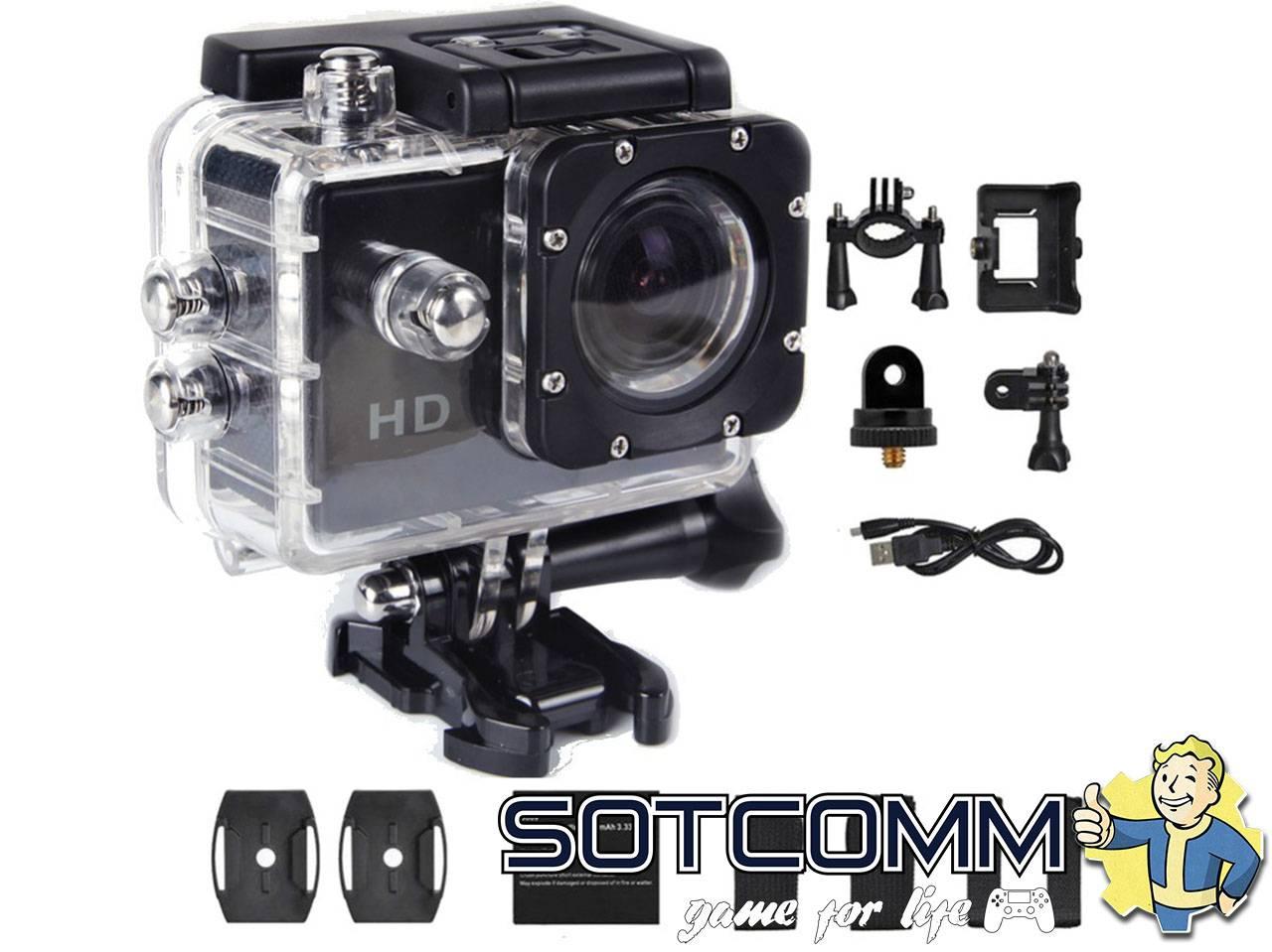 Action camera HD DV 1080p