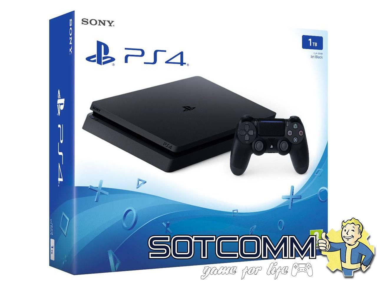 PlayStation 4 Slim 1TB (СUH-2016B)