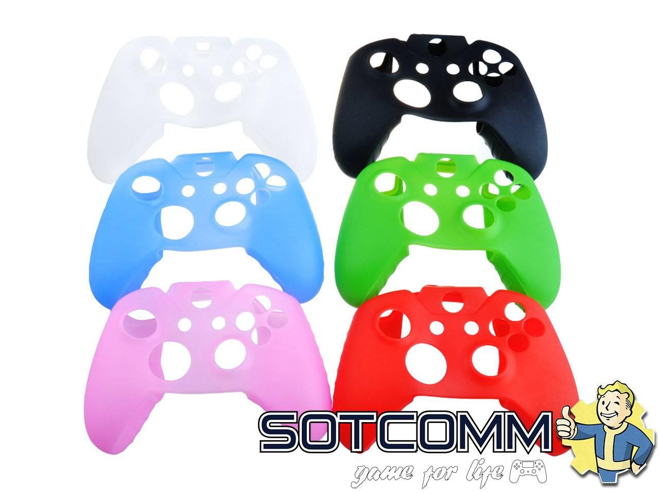 Мягкий силиконовый чехол для контроллера Xbox One