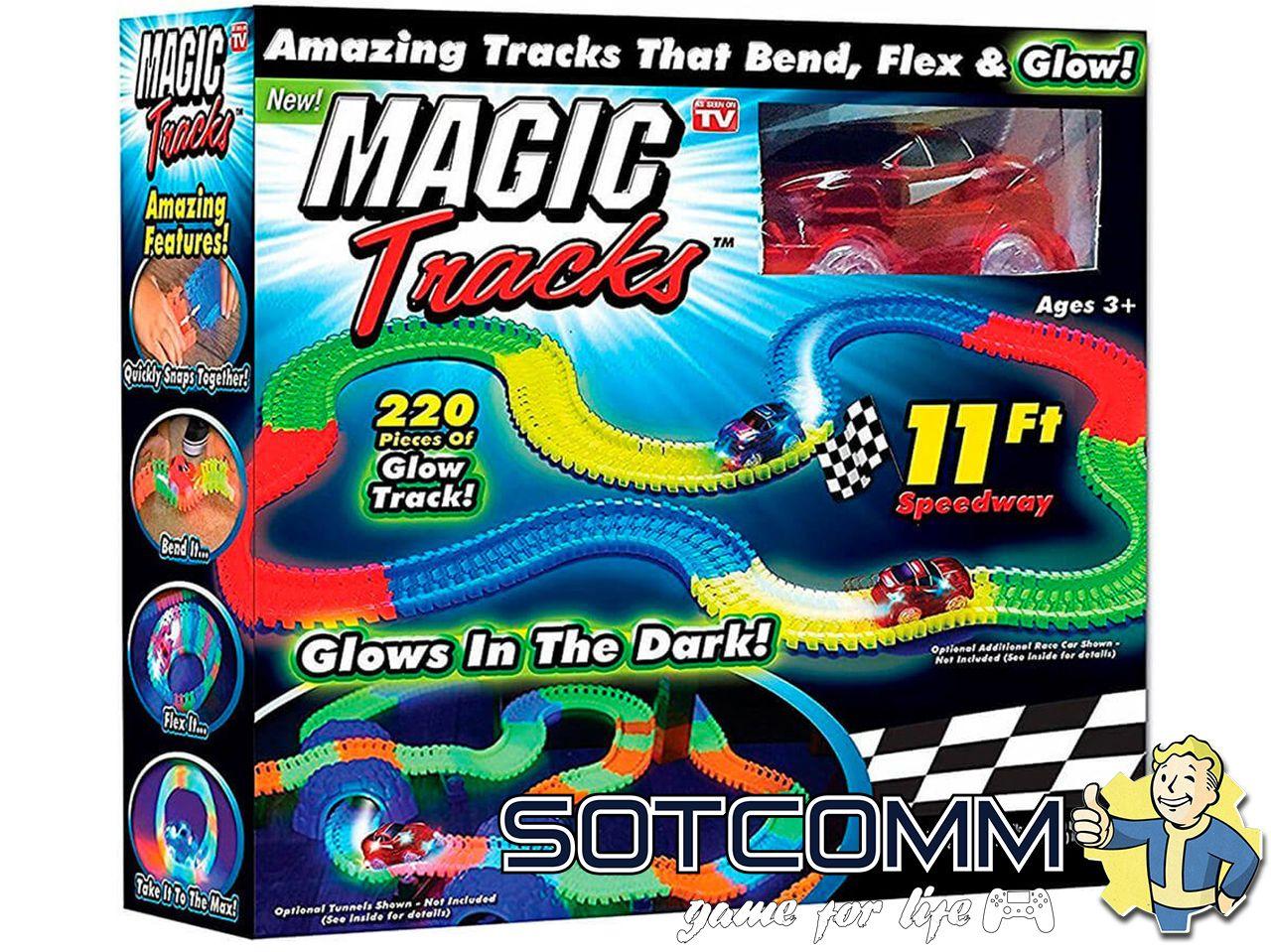 MAGIC TRACKS Мэджик трек 220 деталей