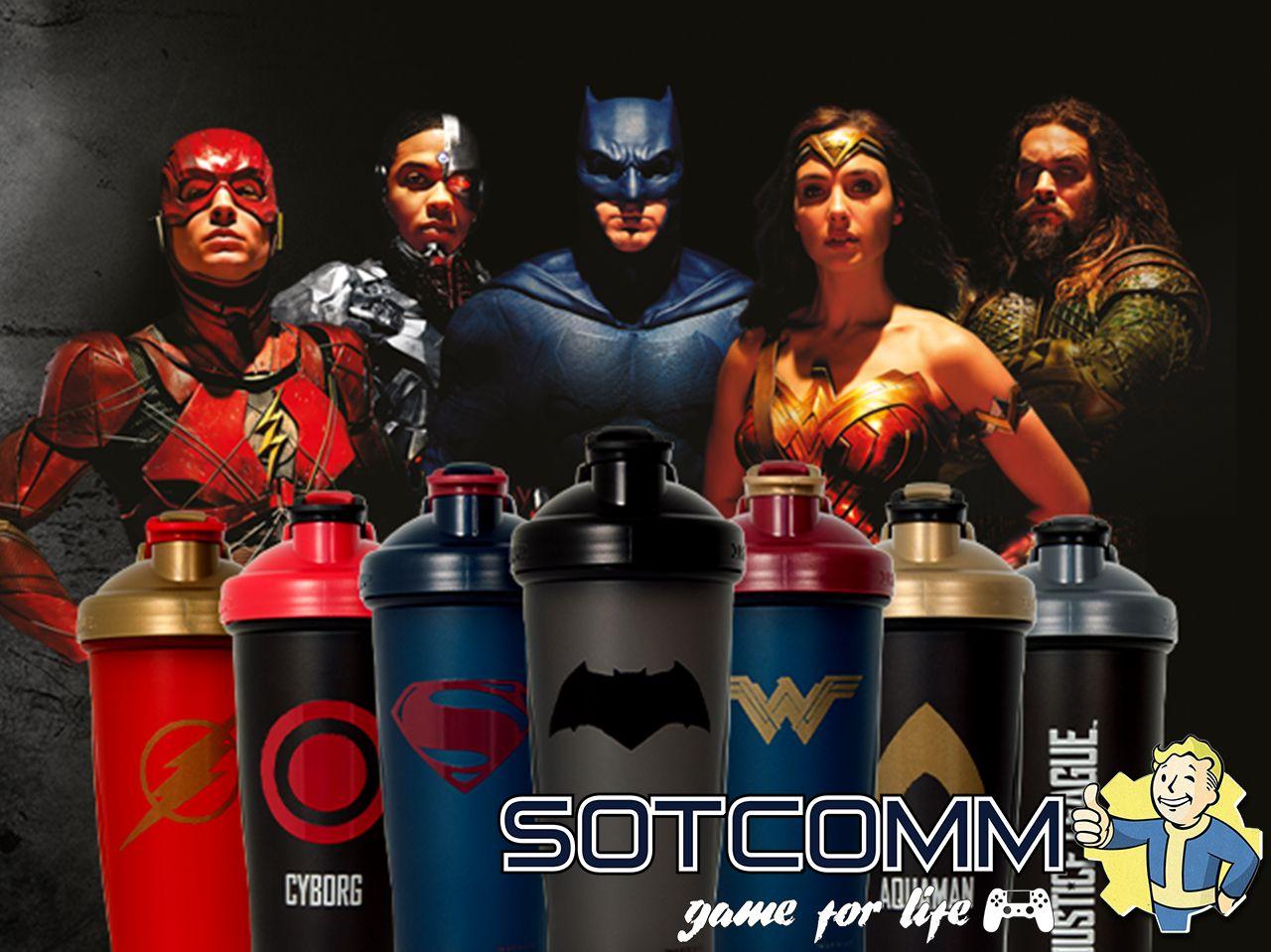 Супергеройские шейкера Justice League Лига Справедливости