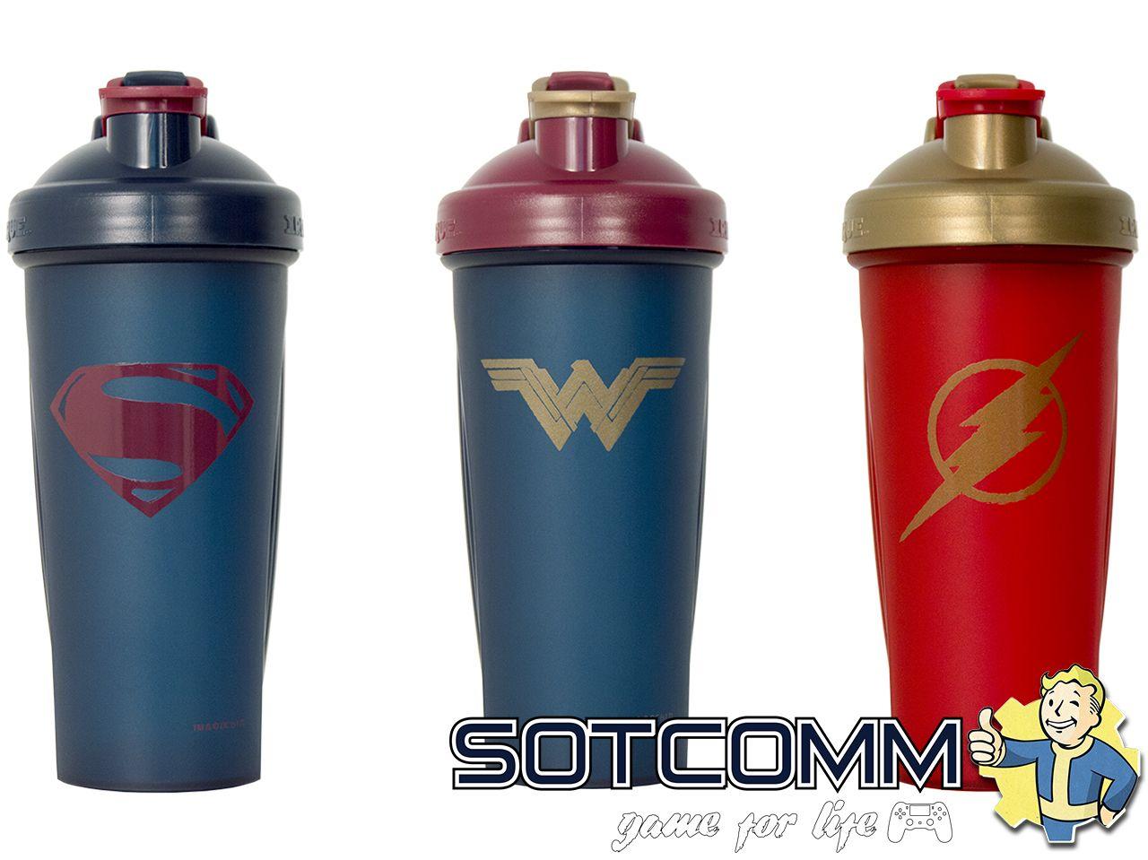 Супергеройские шейкеры Justice League Лига Справедливости