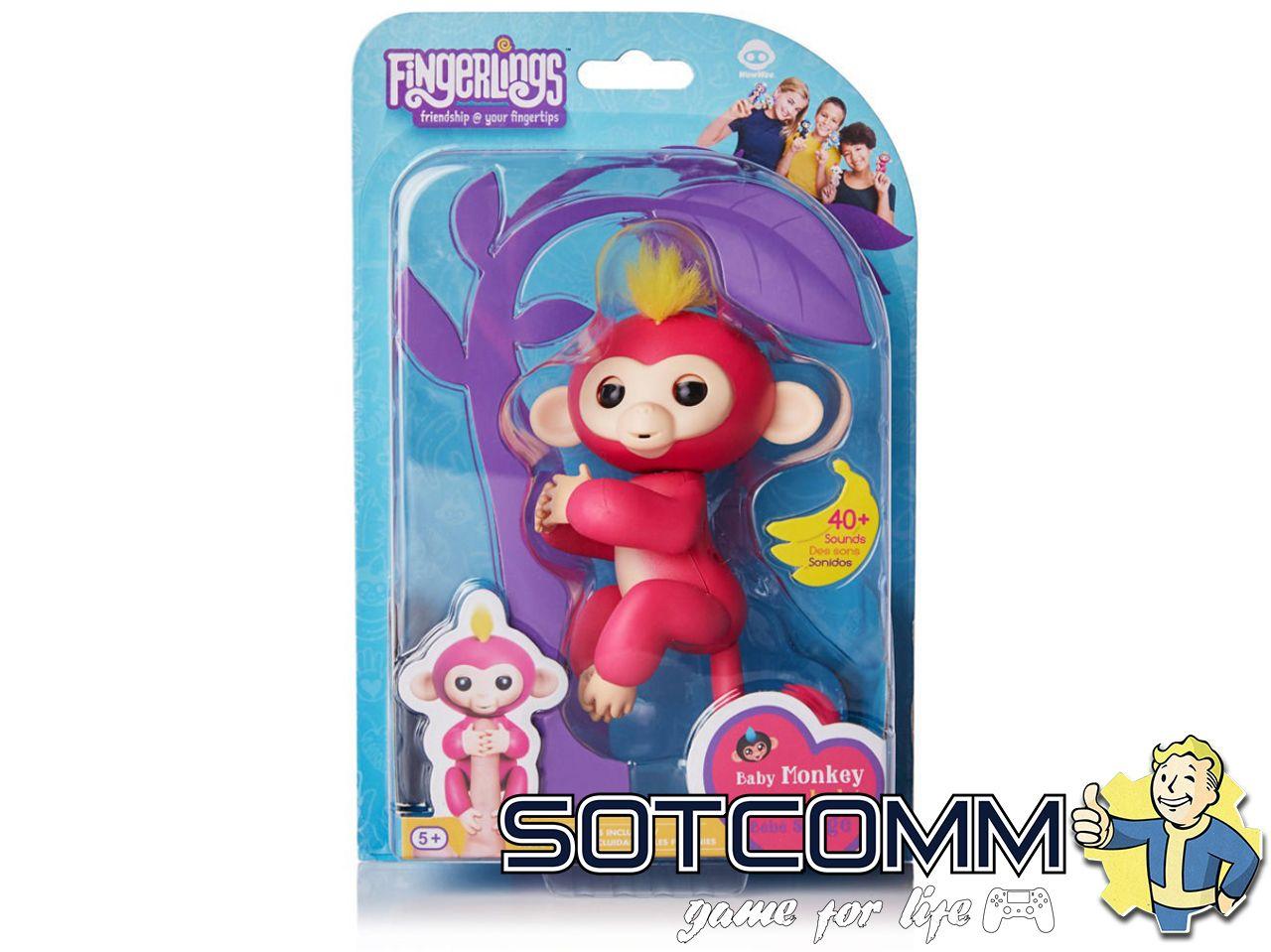Интерактивная обезьянка Fingerlings Fun Monkey