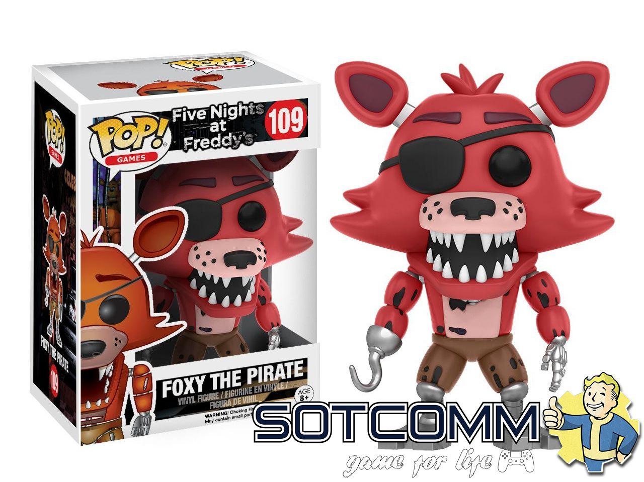 Фигурки Аниматроники Five Nights At Freddy's POP Games ОПТОМ