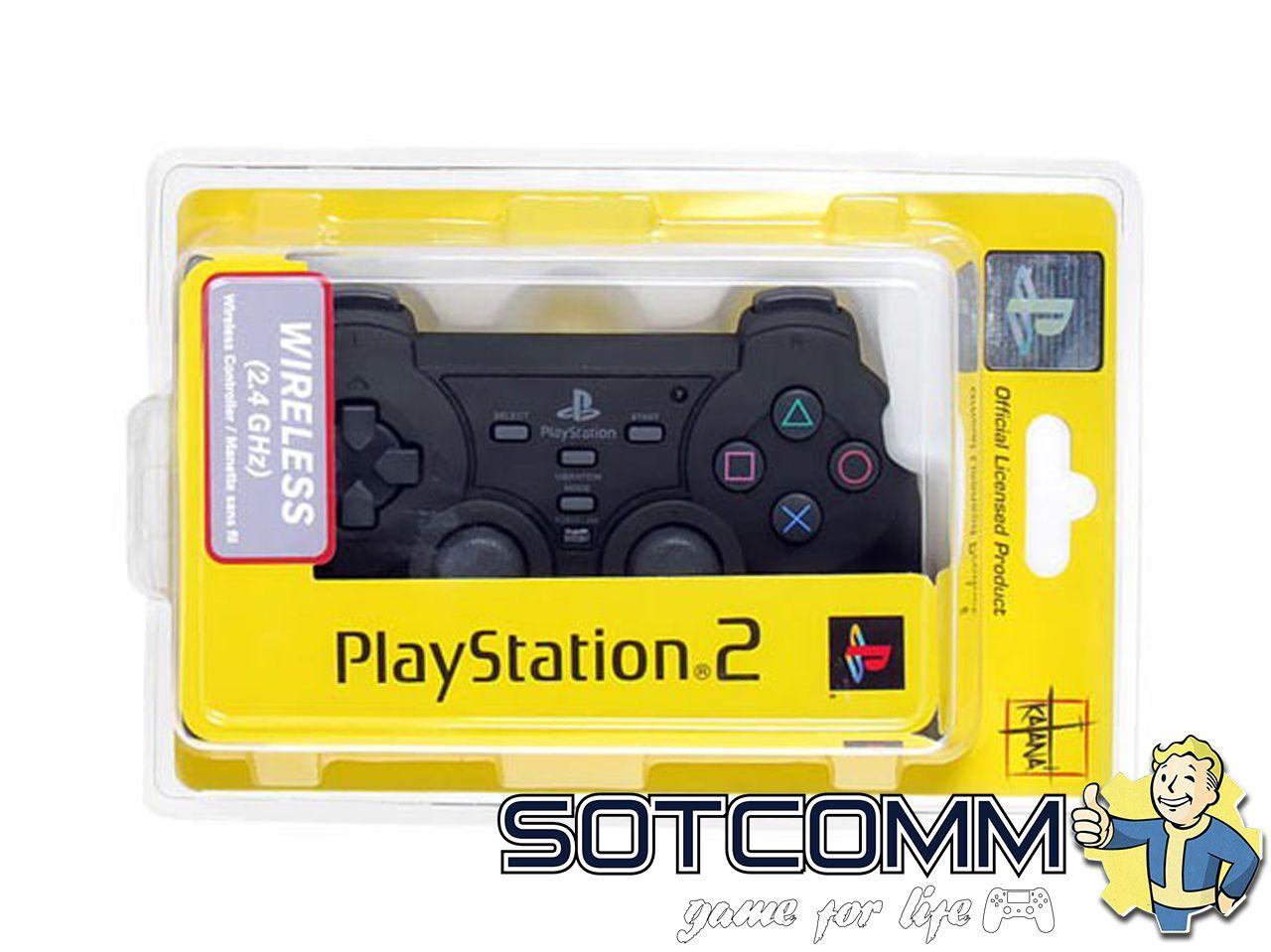 Беспроводной геймпад PS2 Wireless Dualshock 2