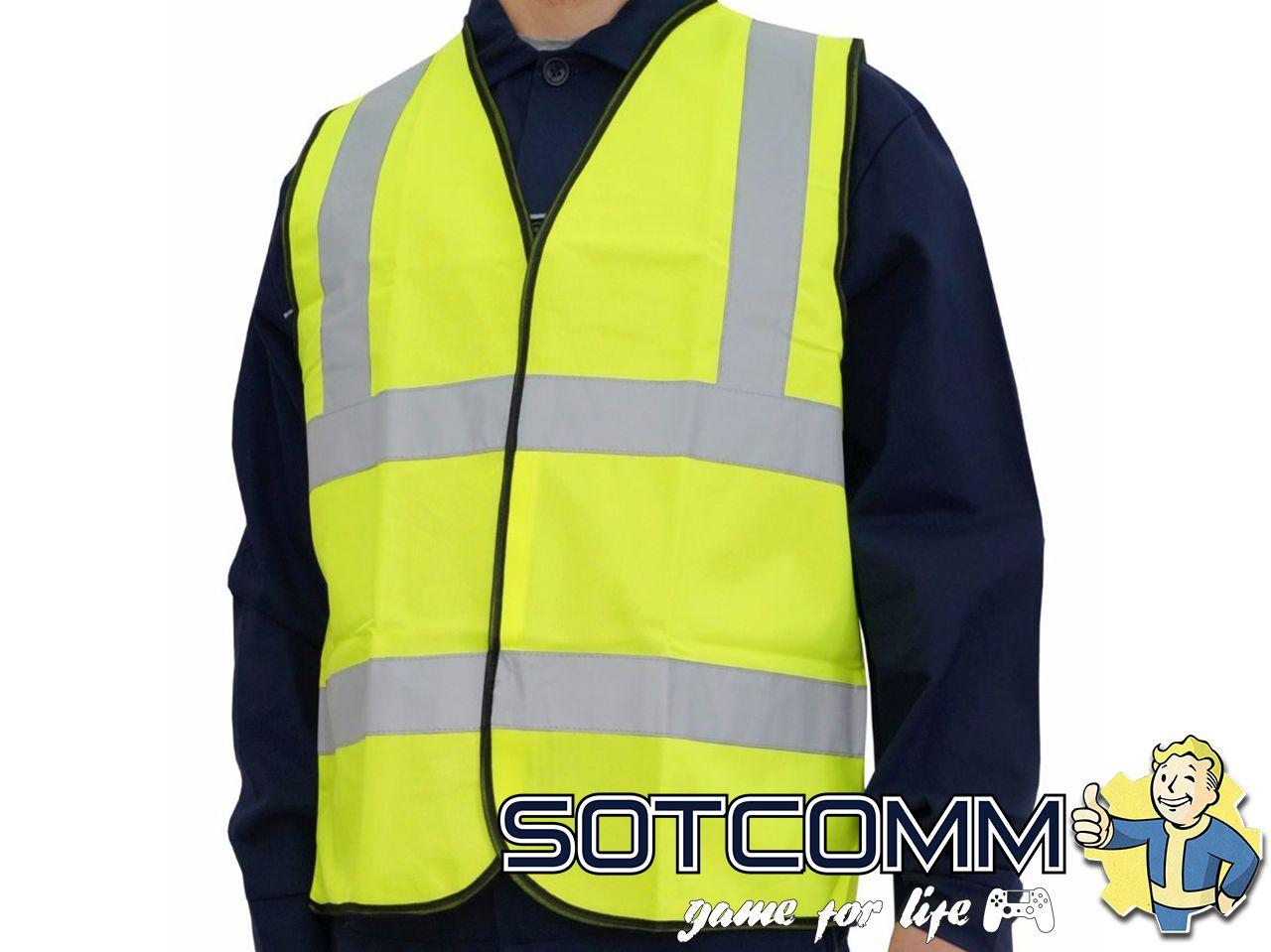 Сигнальный жилет светоотражающий для водителей ГОСТ