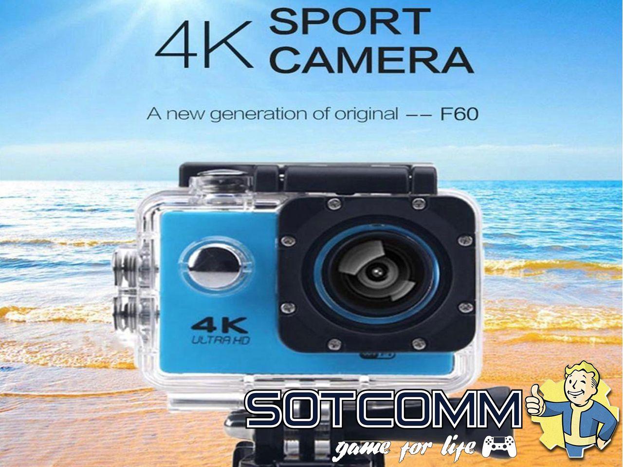Action camera F60 Ultra HD 4K Wi-Fi