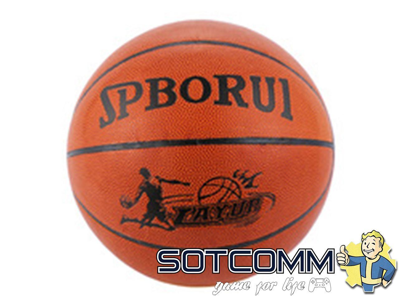 Баскетбольный мяч искусственная кожа