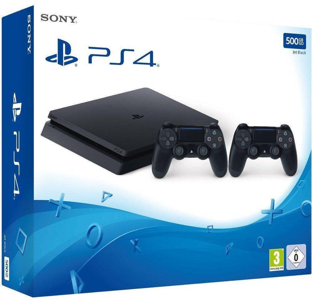 Sony PS4 Slim 500GB + 2 геймпада