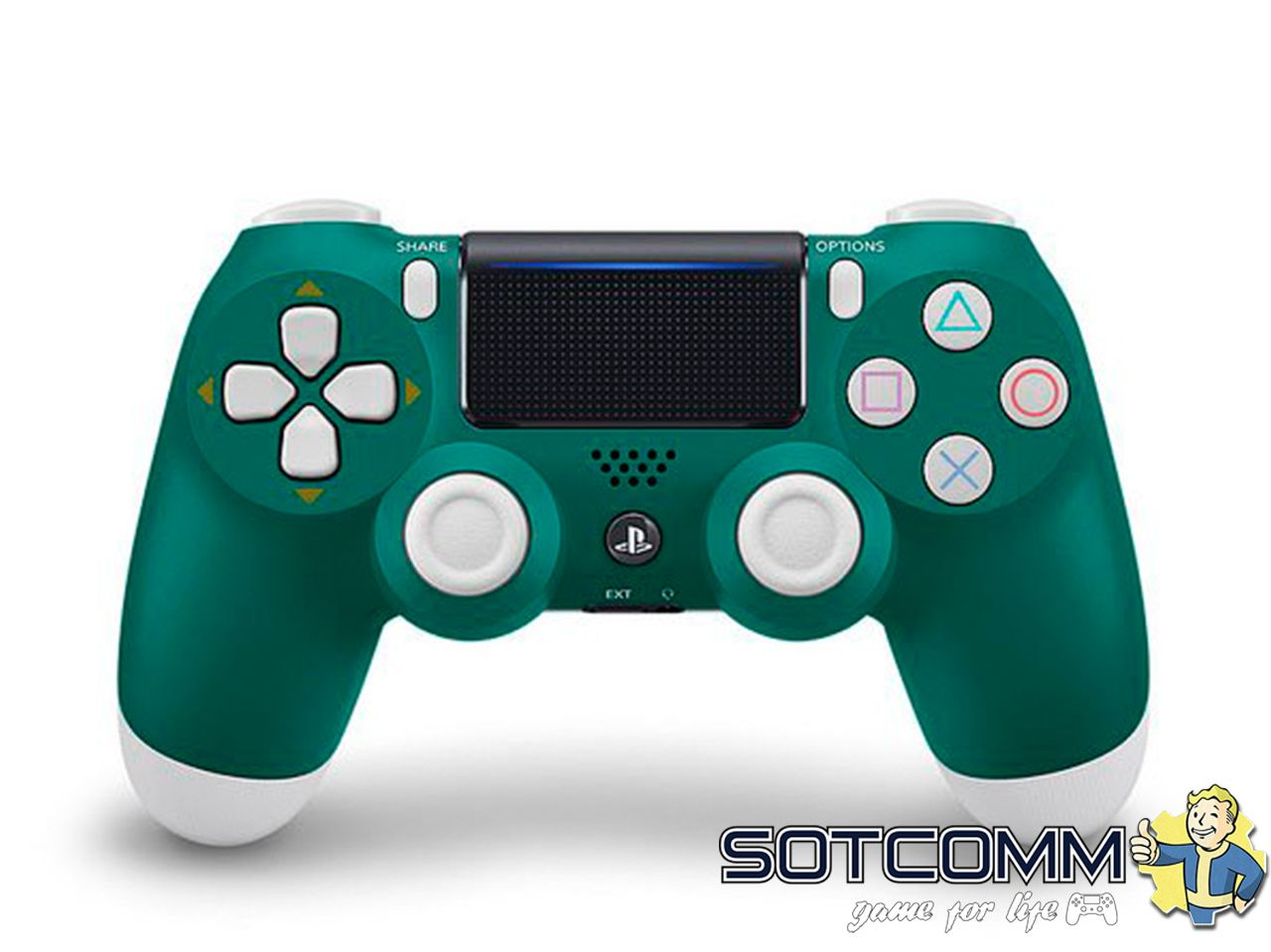 Геймпад PS4 Dualshock v2 Alpine Green (CUH-ZCT2E)