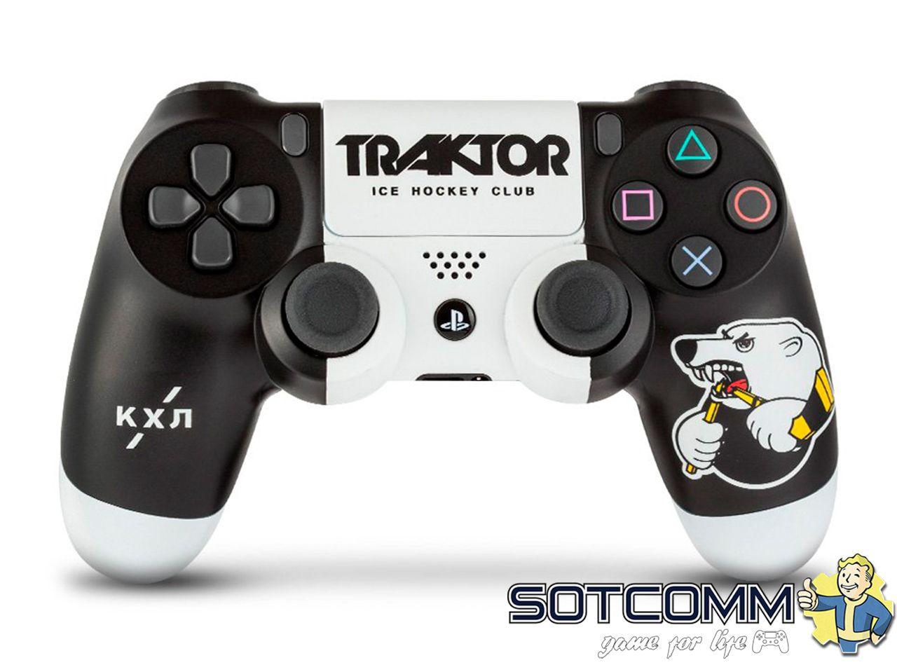 Геймпад Sony Dualshock 4 КХЛ «Трактор» RAINBO RBW-DS068