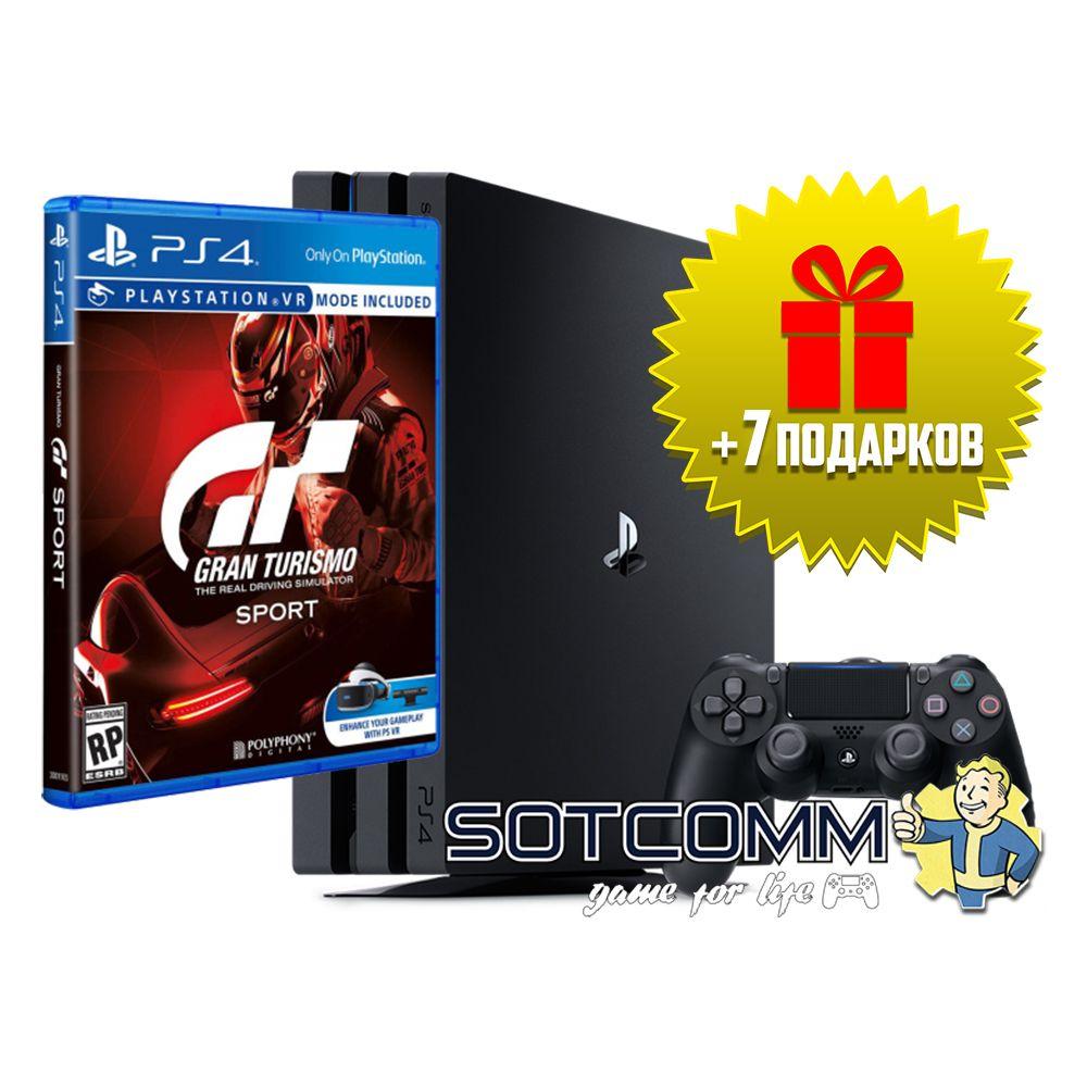 Playstation 4 Pro 1Tb + Gran Turismo: Sport