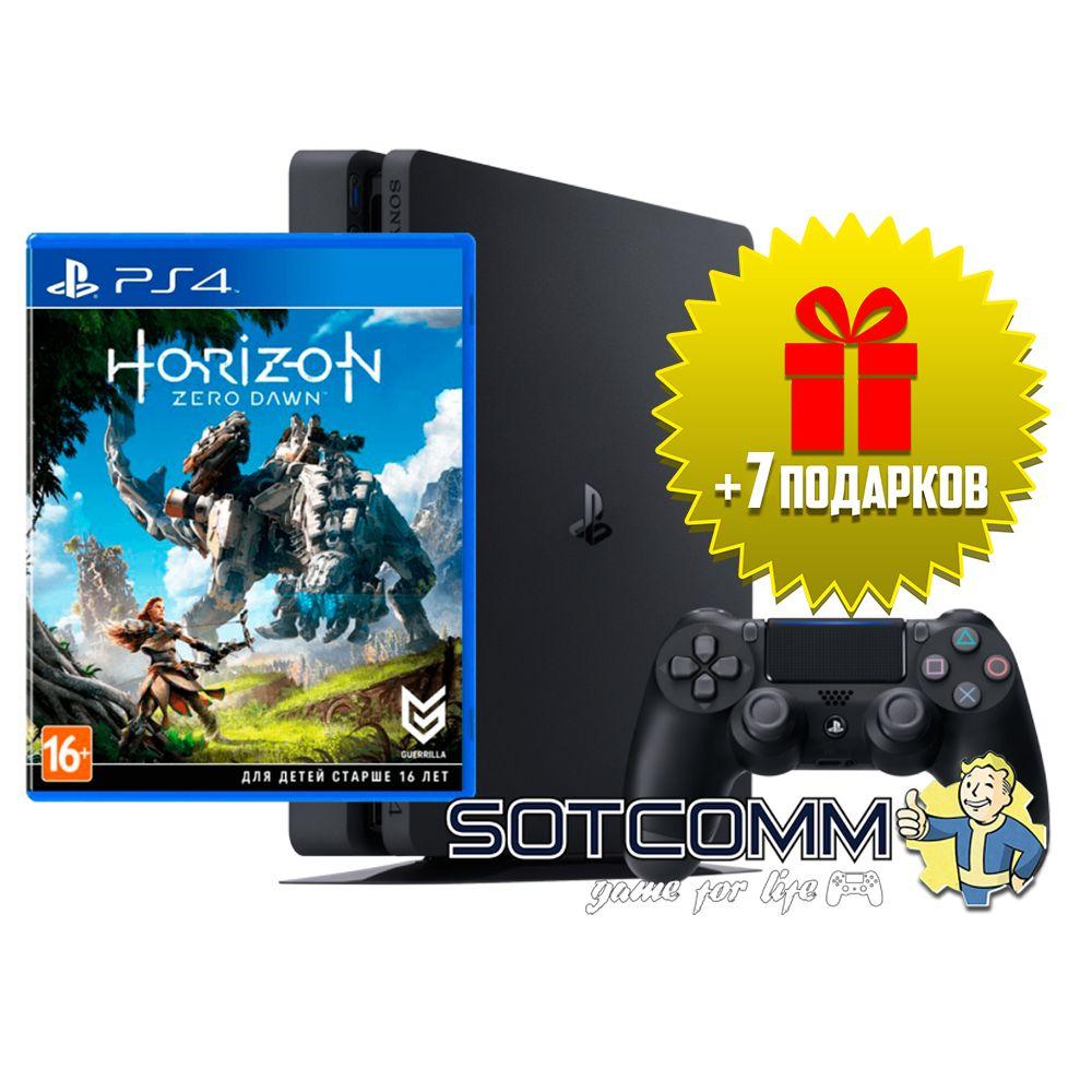 Playstation 4 Slim 500Gb + Horizon: Zero Dawn
