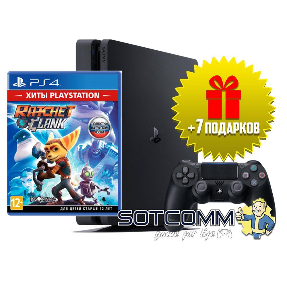 Playstation 4 Slim 500Gb + Ratchet & Clank