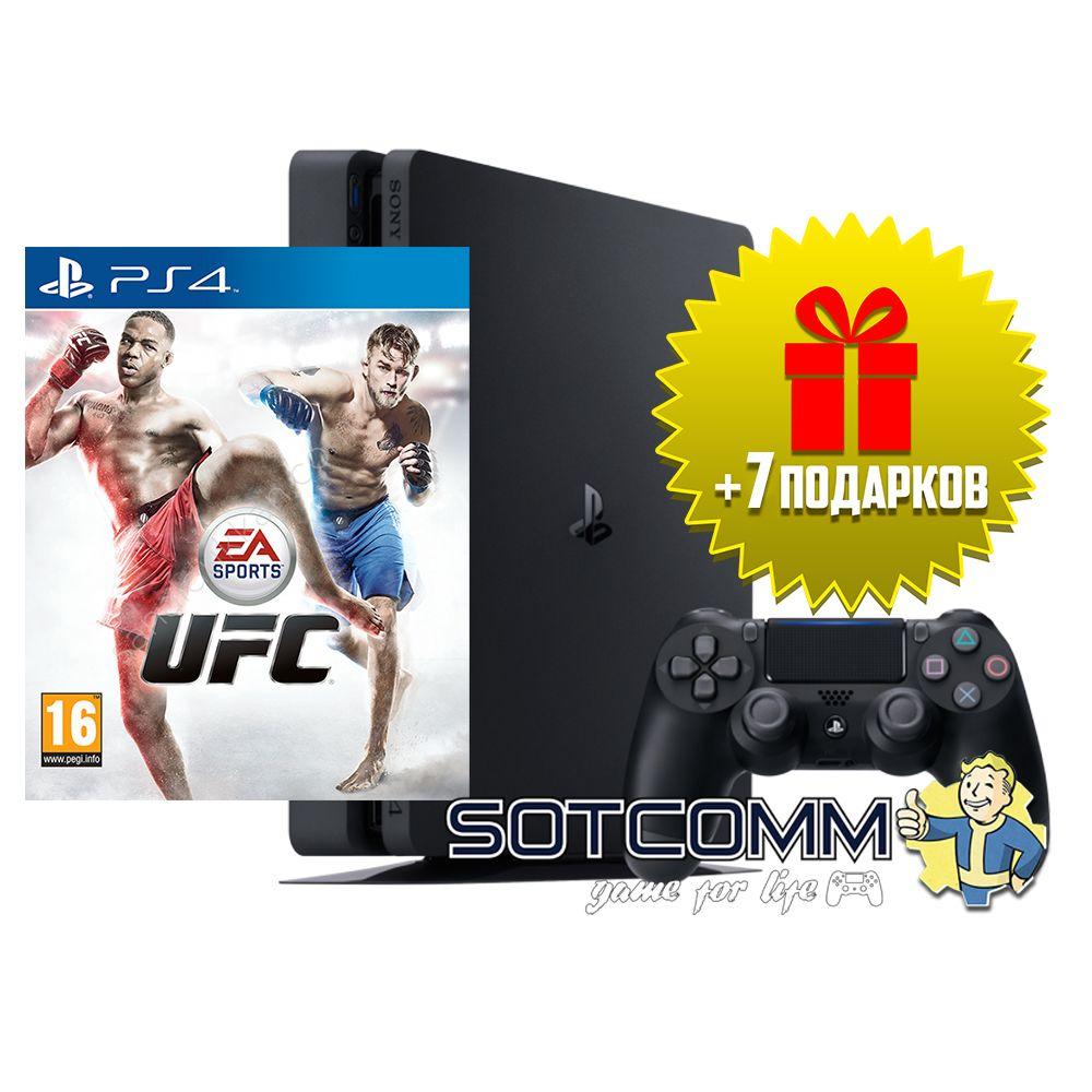 Playstation 4 Slim 1Tb + UFC
