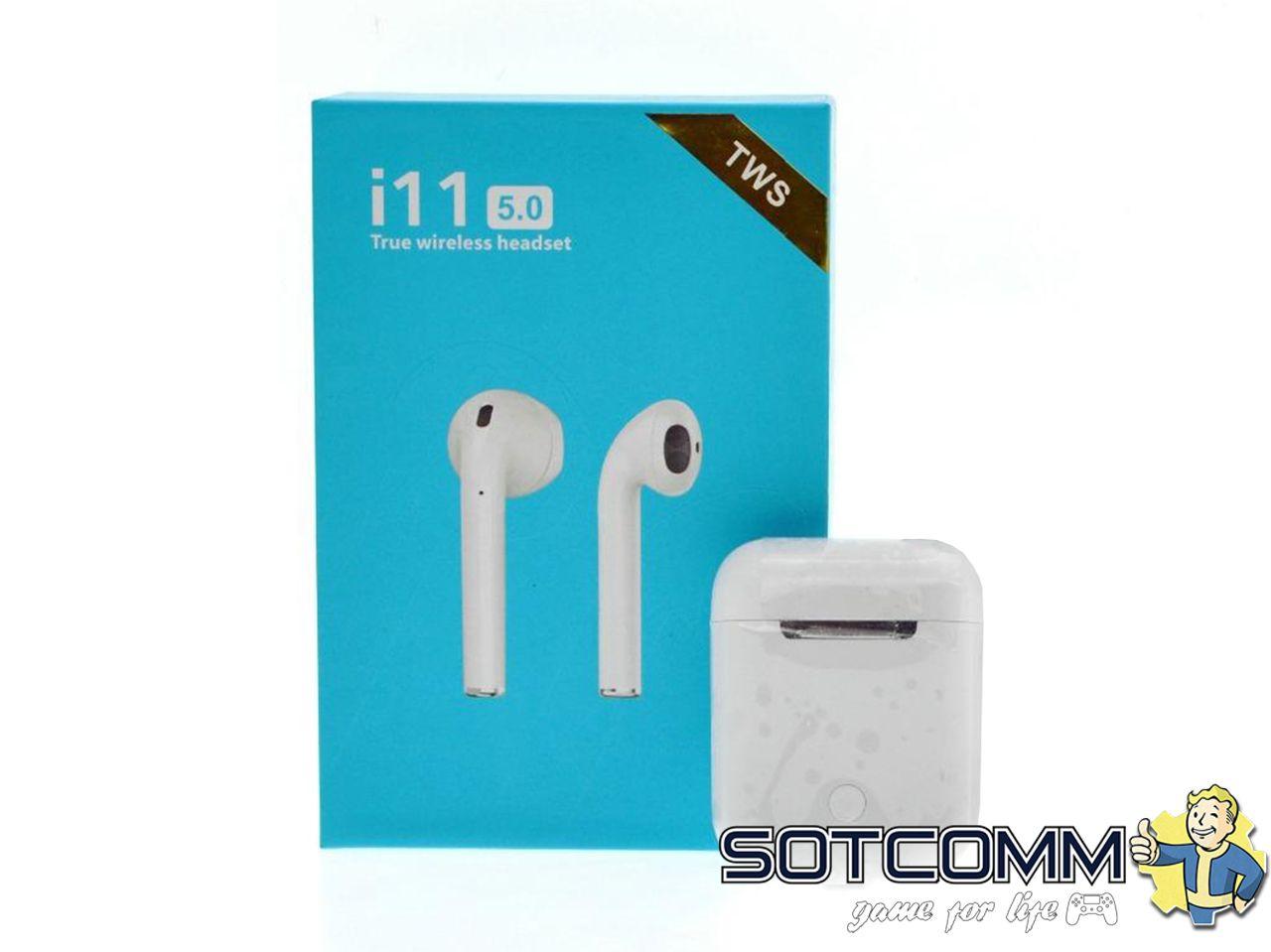 Беспроводные наушники Apple Airpods (i11-TWS 5.0)