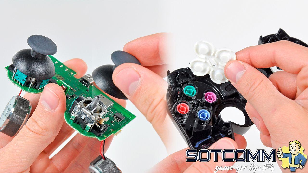 Профессиональный ремонт геймпадов Dualshock 3