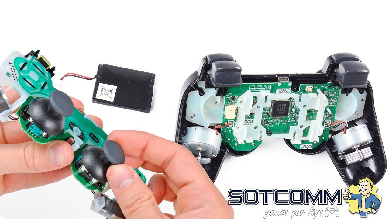 Профессиональный ремонт геймпадов PlayStation 3 Челябинск