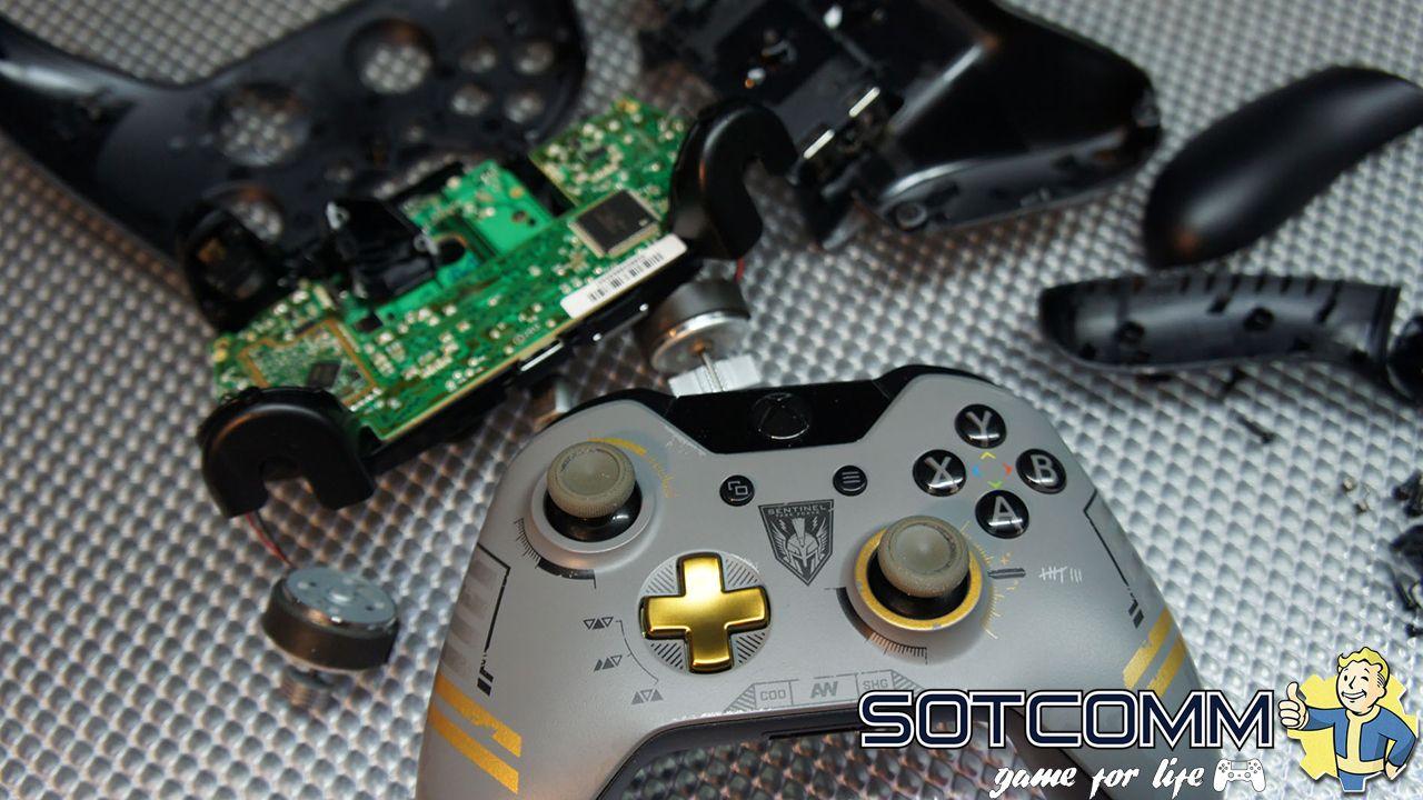 ремонт геймпада Xbox One Челябинск