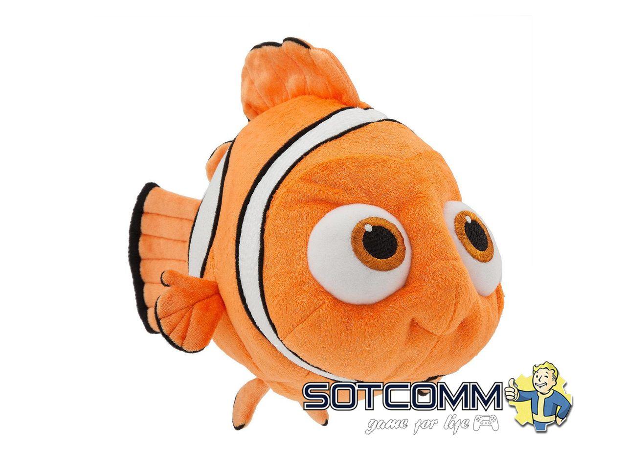 Плюшевая рыбка Немо