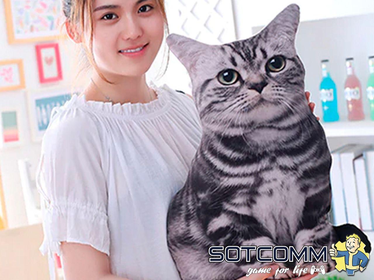 Подушка-игрушка Кот