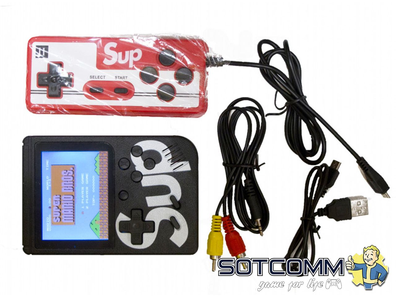 Sup Game box 400 in 1 + джойстик
