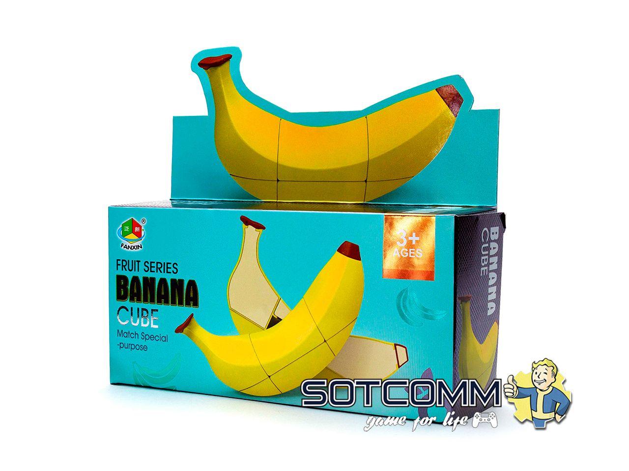 Кубик Рубика Банан Fanxin Banana cube