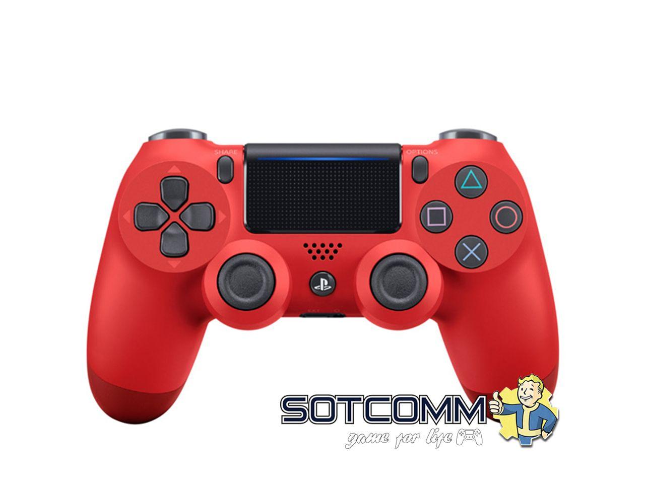 Геймпад для PS4 DS4 V2 Replica (Красный)