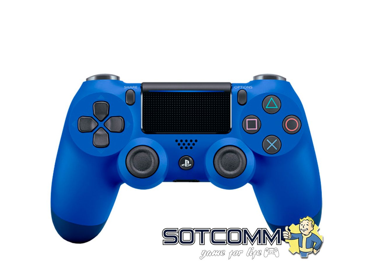 Геймпад для PS4 DS4 V2 Replica (Синий)