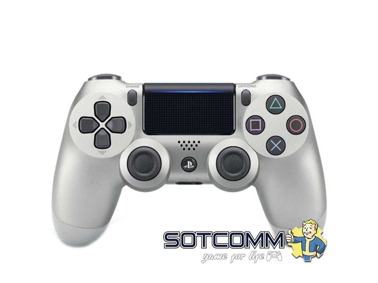 Геймпад для PS4 DS4 V2 Replica (Серебристый)