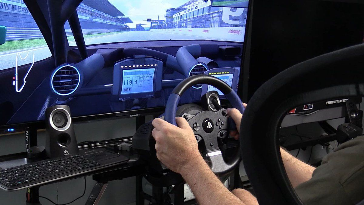 Прокат профессионального, гоночного руля (PS3/PS4/PC)