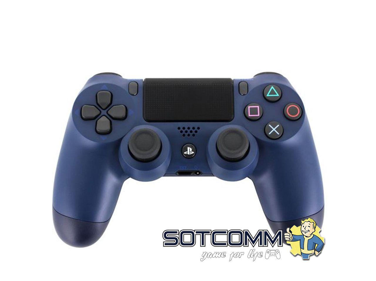 Геймпад для PS4 DS4 V2 Replica (Темно-синий)
