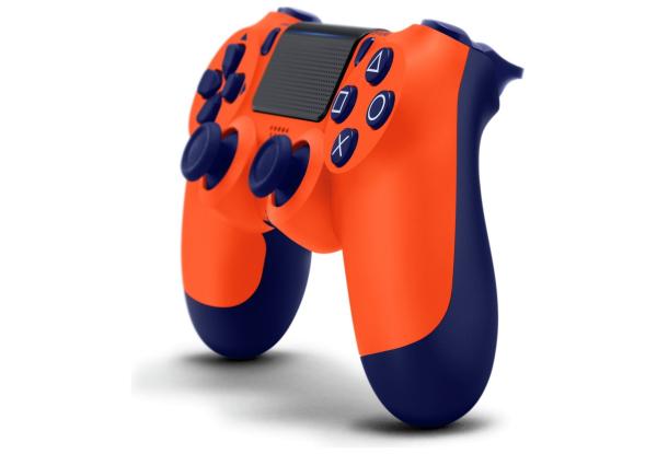 Геймпад для PS4 DS4 V2 Replica (Оранжевый)