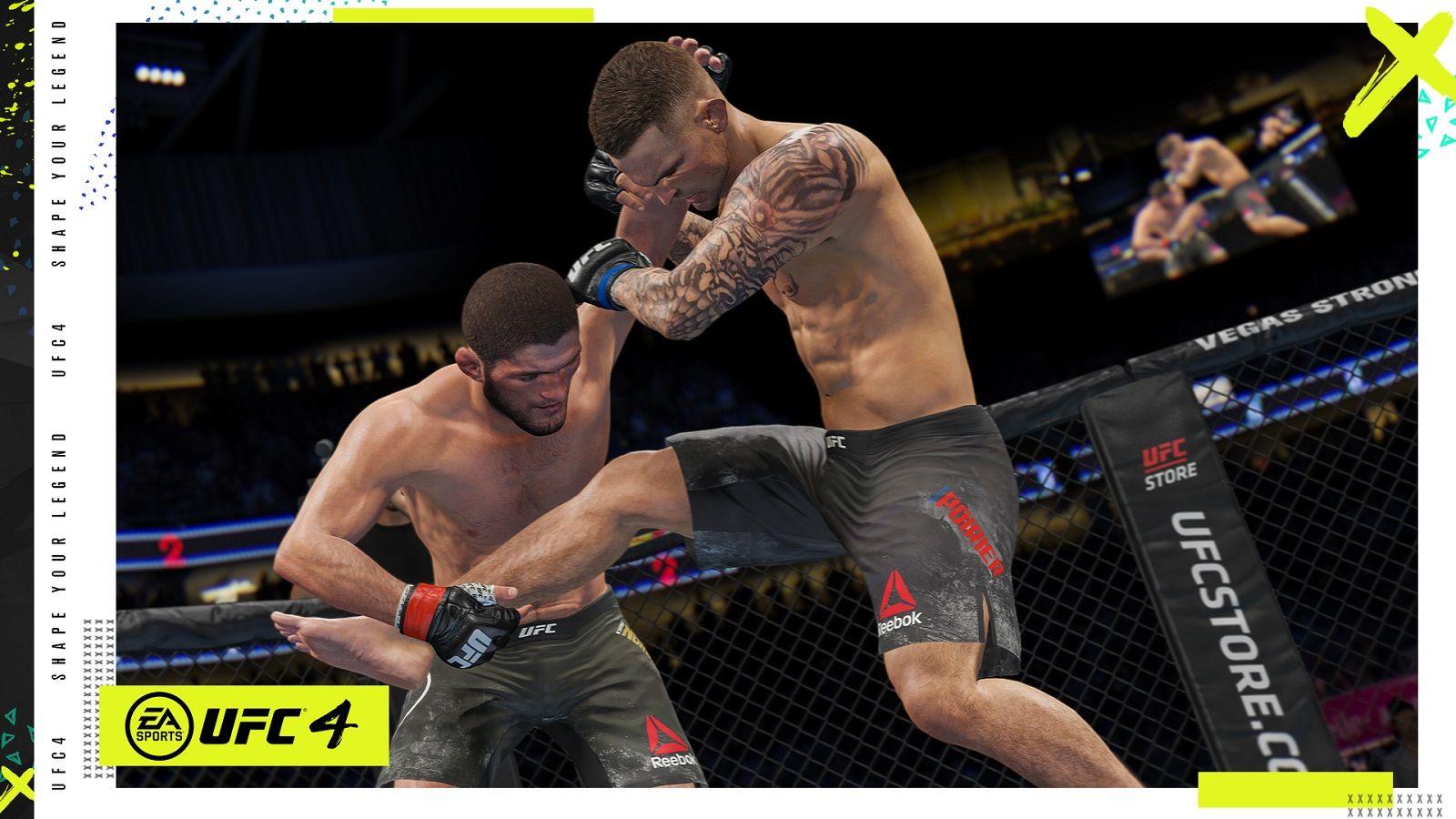 EA Sports UFC 4 Гайды, читы, секреты, коды, пасхалки.