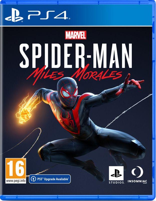 Marvel Человек-Паук: Майлз Моралес (PS4)