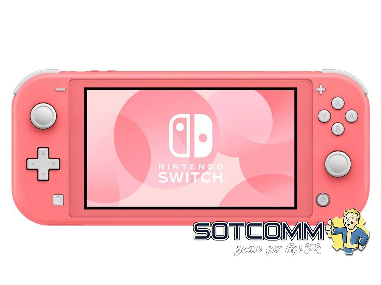 Nintendo Switch Lite Розовая