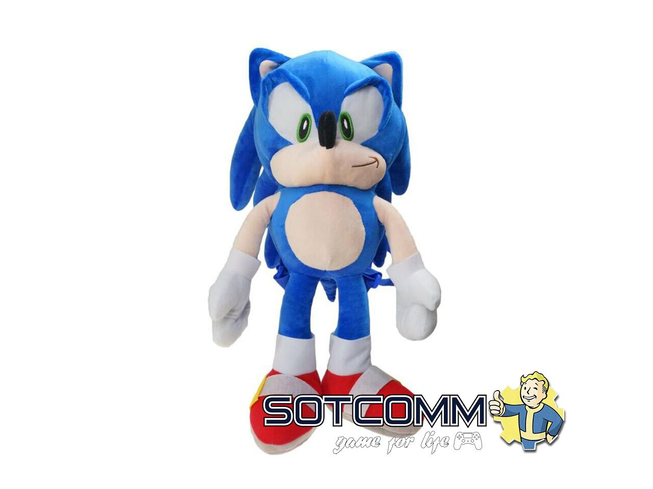 Плюшевый Sonic 55 см